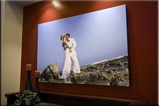 Affordable Canvas Printing, canvas bridal enlargement print